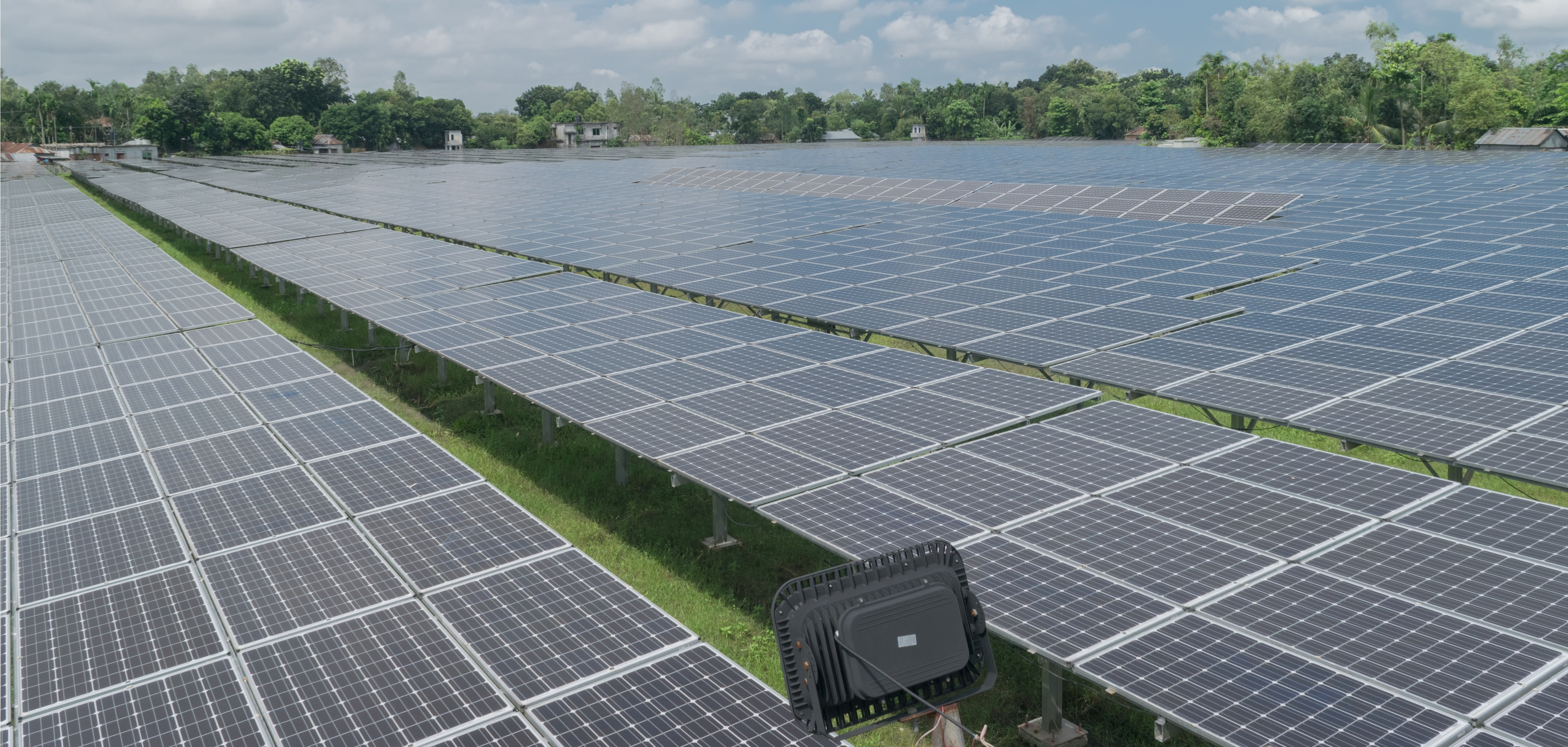 Engreen 3 MW Large-scale Solar, the First Ever Solar Park of Bangladesh